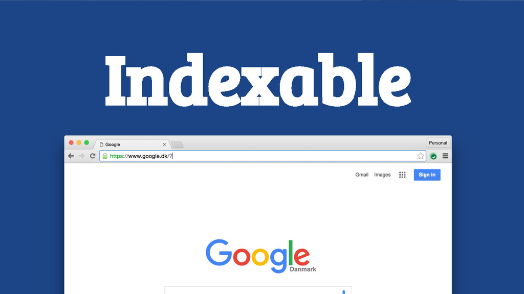 Indexable