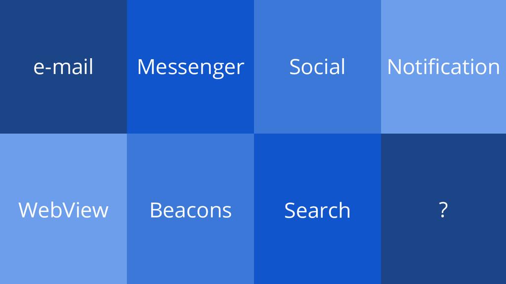 e-mail Messenger Social Notification WebView Be...