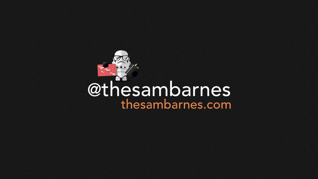 @thesambarnes thesambarnes.com