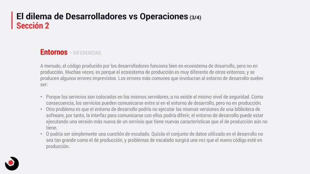 El dilema de Desarrolladores vs Operaciones (3/...