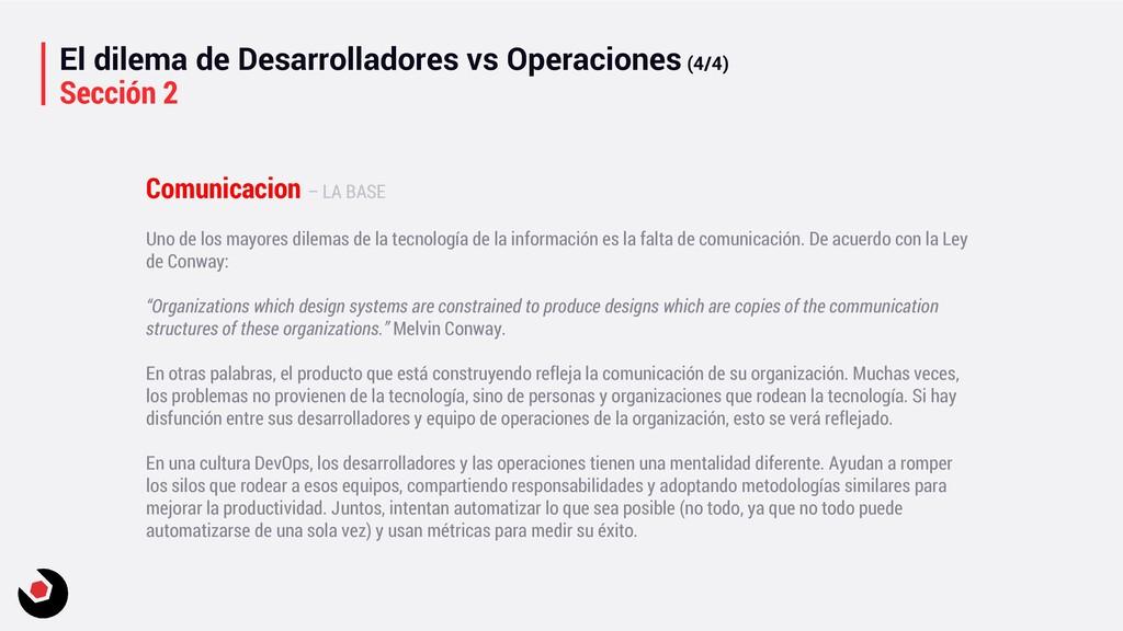 El dilema de Desarrolladores vs Operaciones (4/...