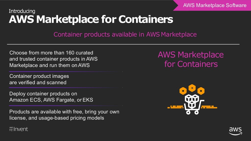 Introducing AWS Marketplace for Containers AWS ...