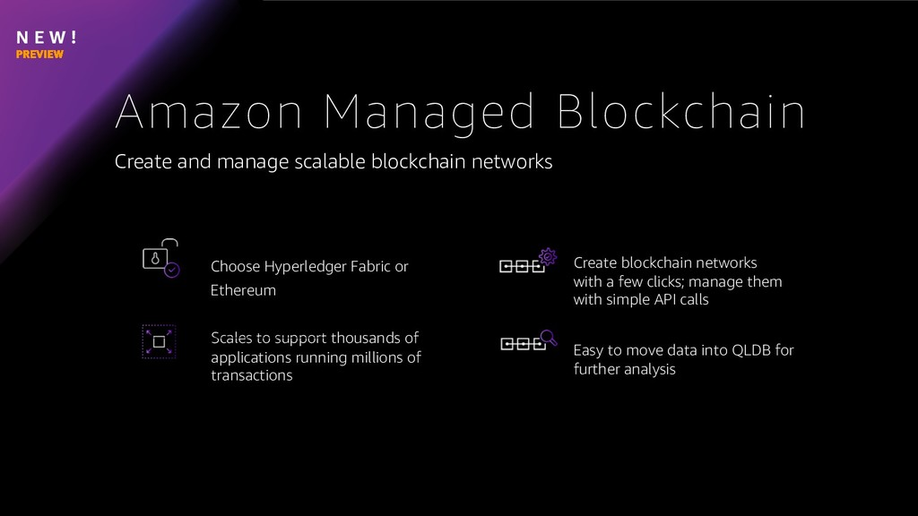 N E W ! Create and manage scalable blockchain n...