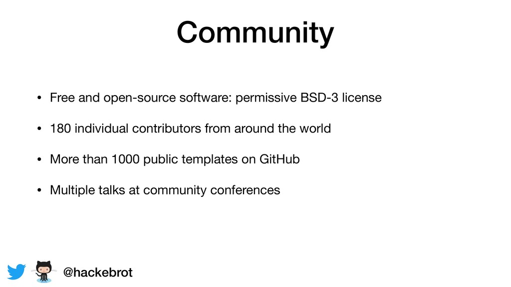 Community • Free and open-source software: perm...