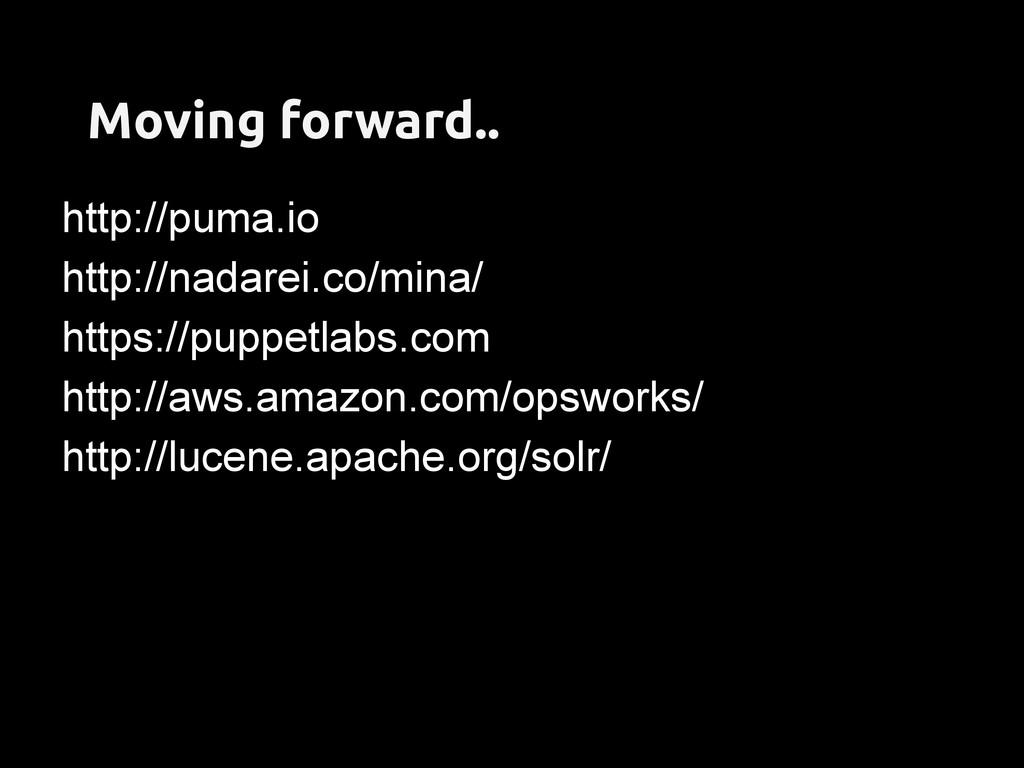 Moving forward.. http://puma.io http://nadarei....