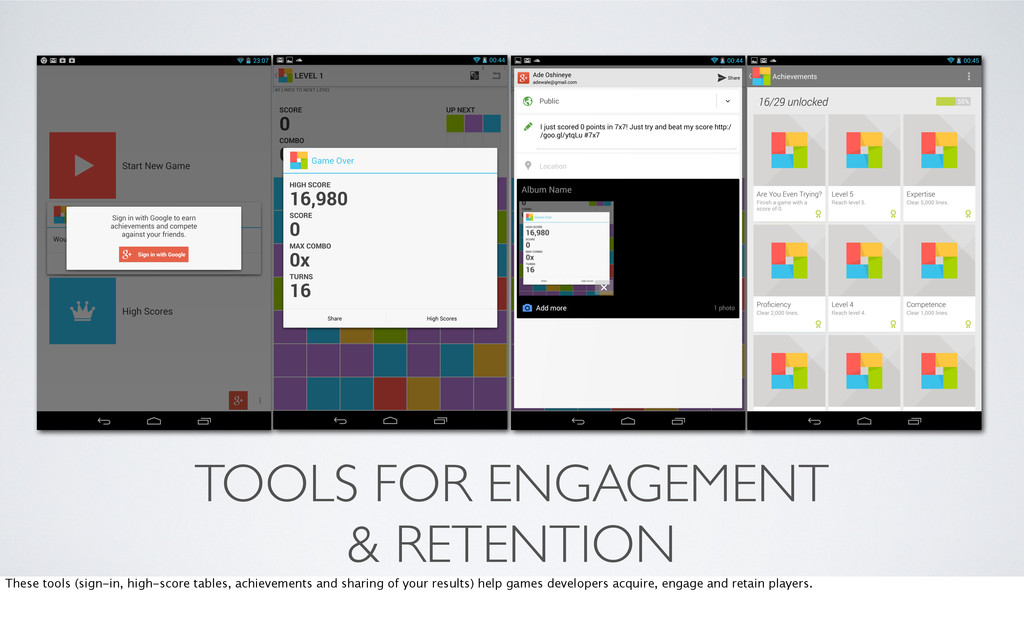 TOOLS FOR ENGAGEMENT & RETENTION These tools (s...