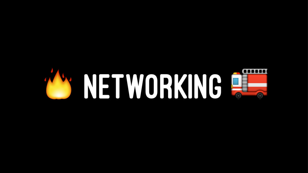 ! NETWORKING ""