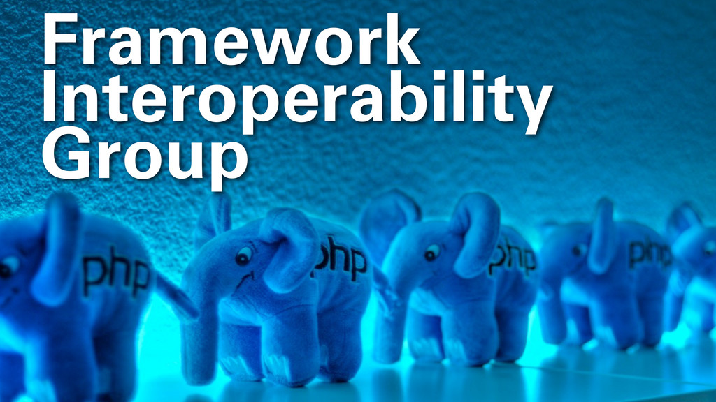Framework Interoperability Group