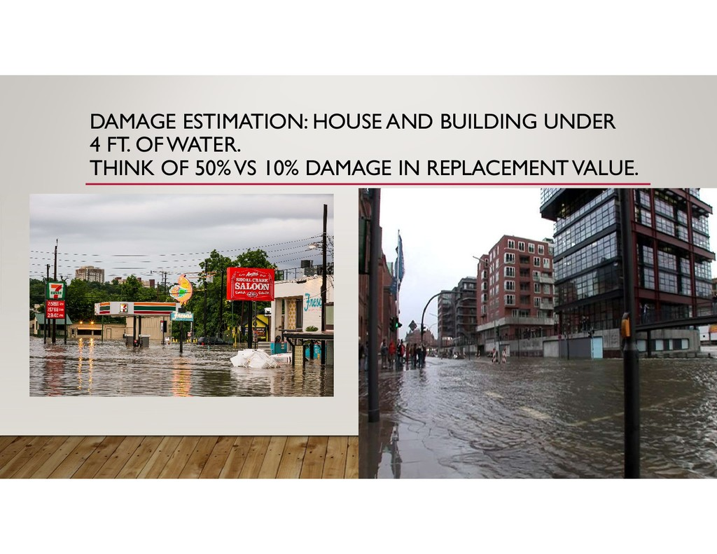 DAMAGE ESTIMATION: HOUSE AND BUILDING UNDER 4 F...