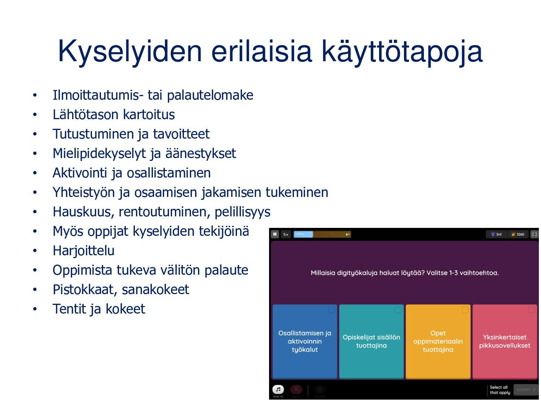 quizizz.com • Peruskäyttö maksutonta vain opett...