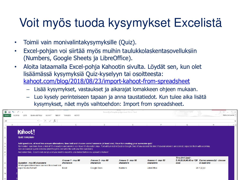 www.blooket.com Oppijan näkymä muistuttaa Kahoo...