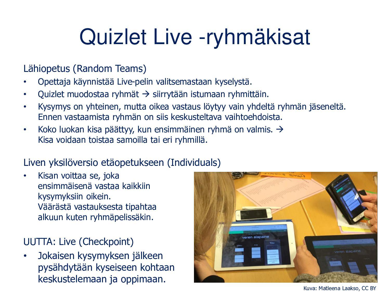 Uuden Quizletin luominen Kirjaudu → Create → Ni...