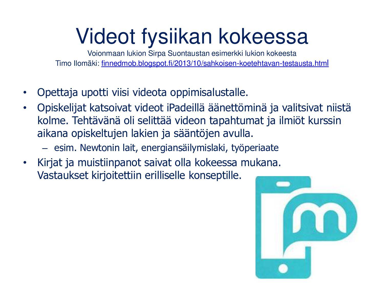 Yksilöllinen oppiminen Pekka Peuran ja suomalai...