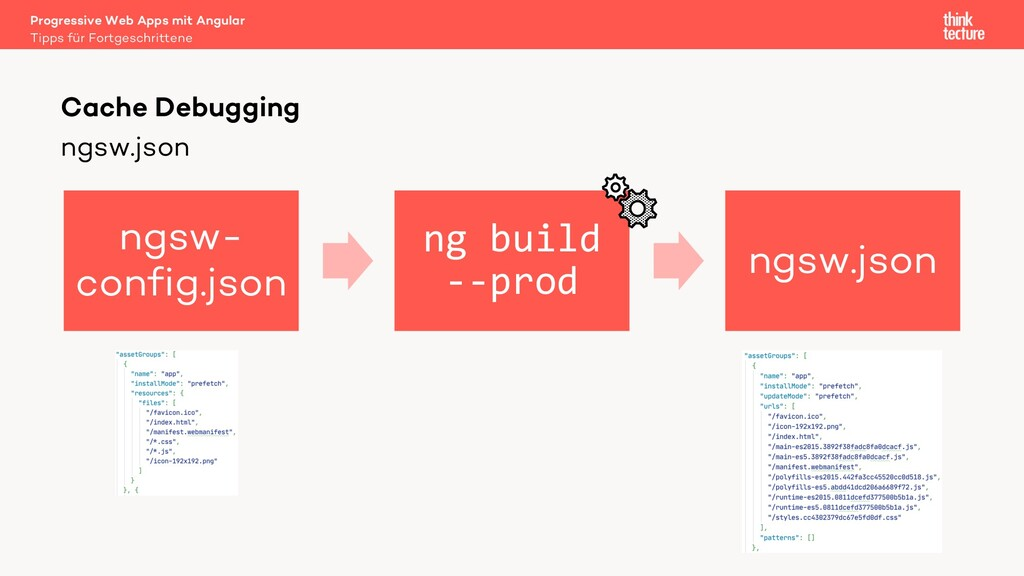 ngsw.json Progressive Web Apps mit Angular Tipp...