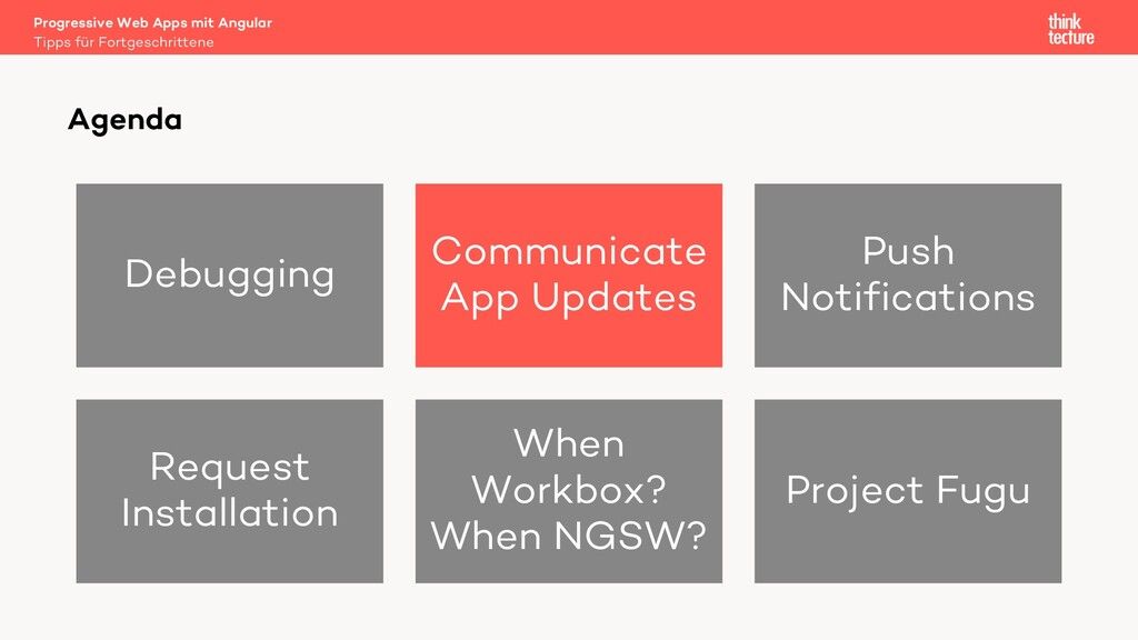 Debugging Communicate App Updates Push Notifica...