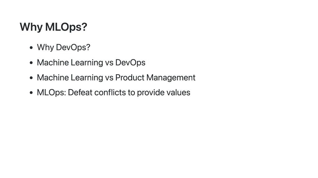 Why MLOps? Why DevOps? Machine Learning vs DevO...