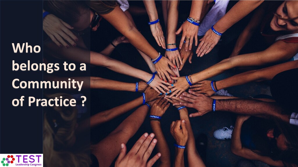 Who belongs to a Community of Practice ?