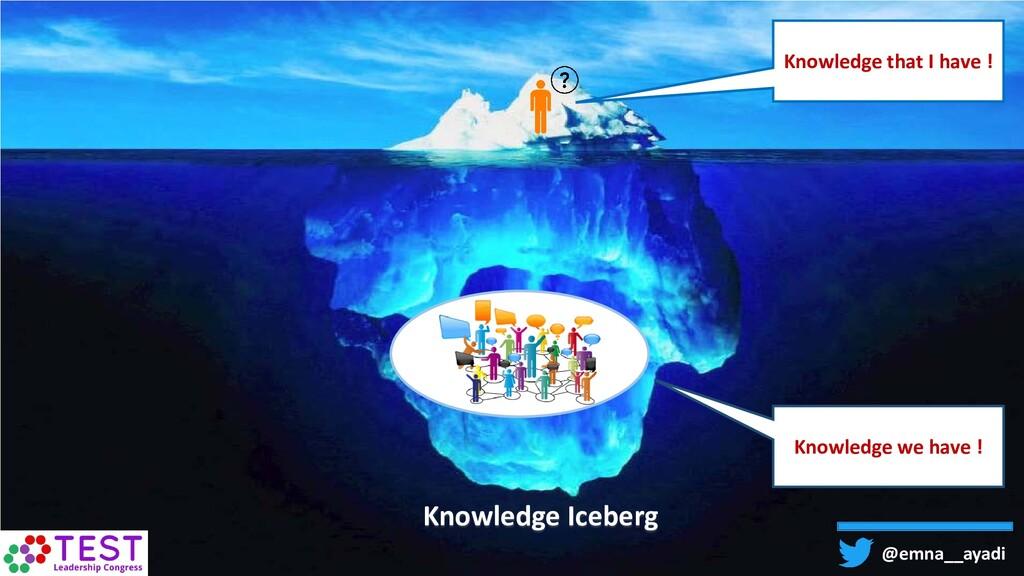 @emna__ayadi Knowledge that I have ! Knowledge ...