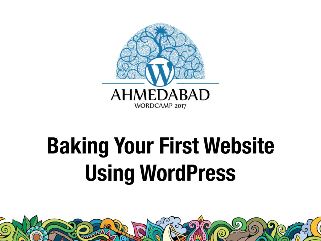 Baking Your First Website Using WordPress