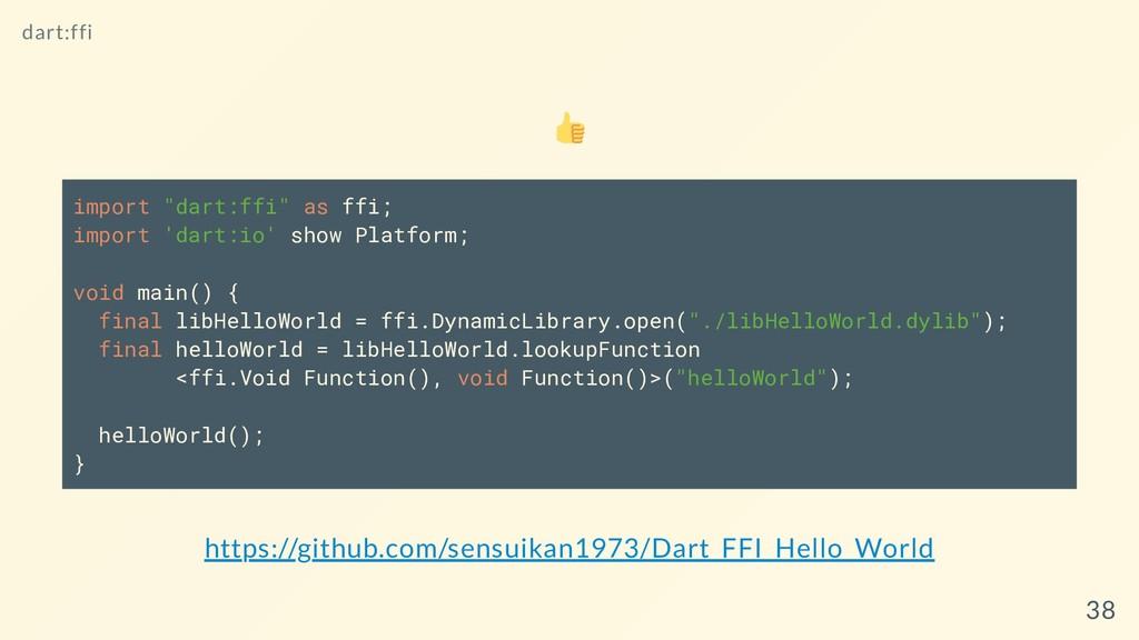 "import ""dart:ffi"" as ffi; import 'dart:io' show..."