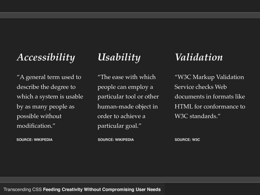Transcending CSS Feeding Creativity Without Com...