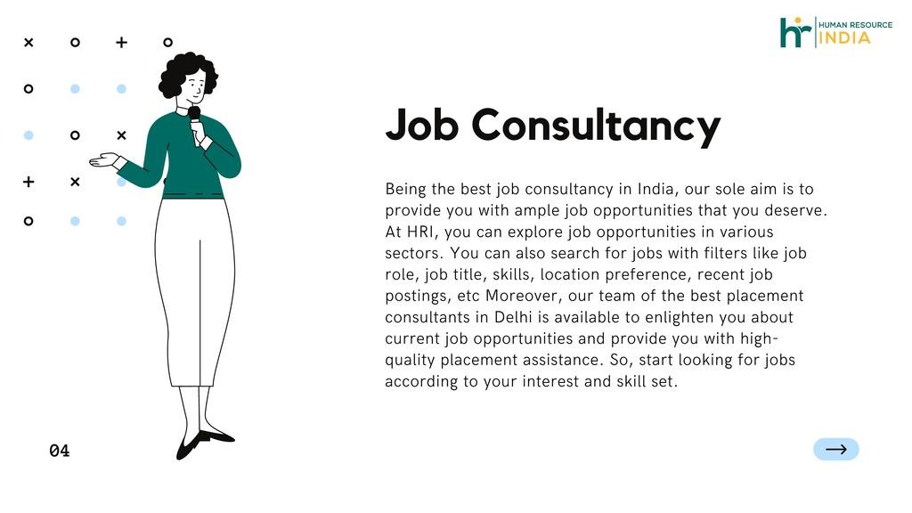Job Consultancy 04 Being the best job consultan...
