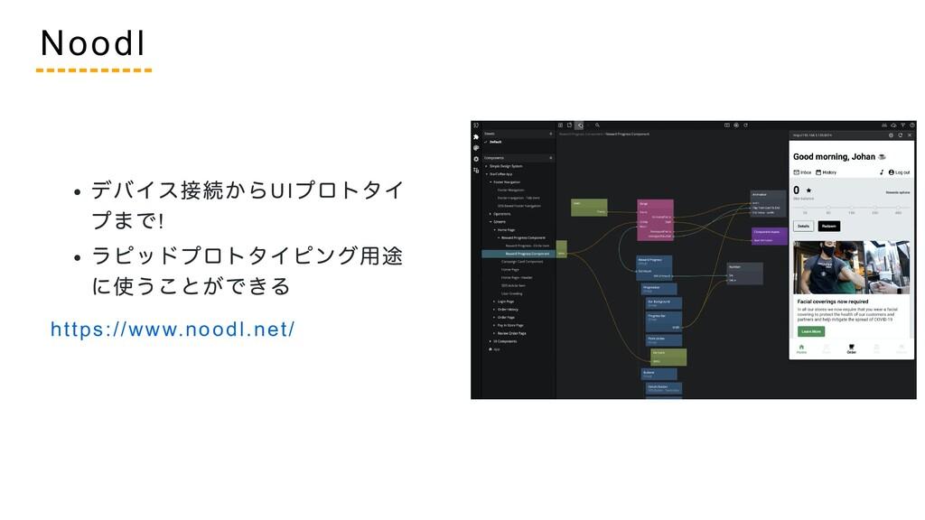 デバイス接続からUI プロトタイ プまで! ラピッドプロトタイピング用途 に使うことができる ...