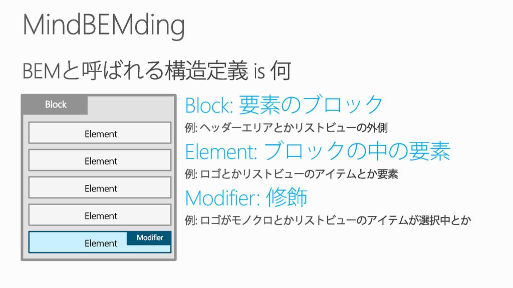 Element Element Element Element Element Block: ...