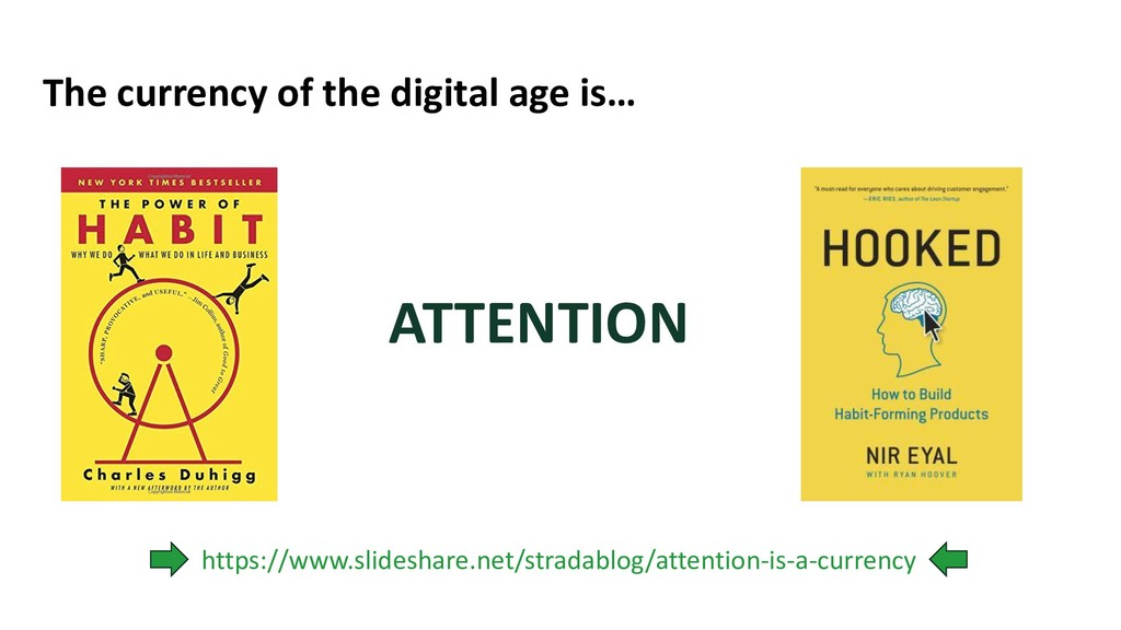 The currency of the digital age is… ATTENTION h...
