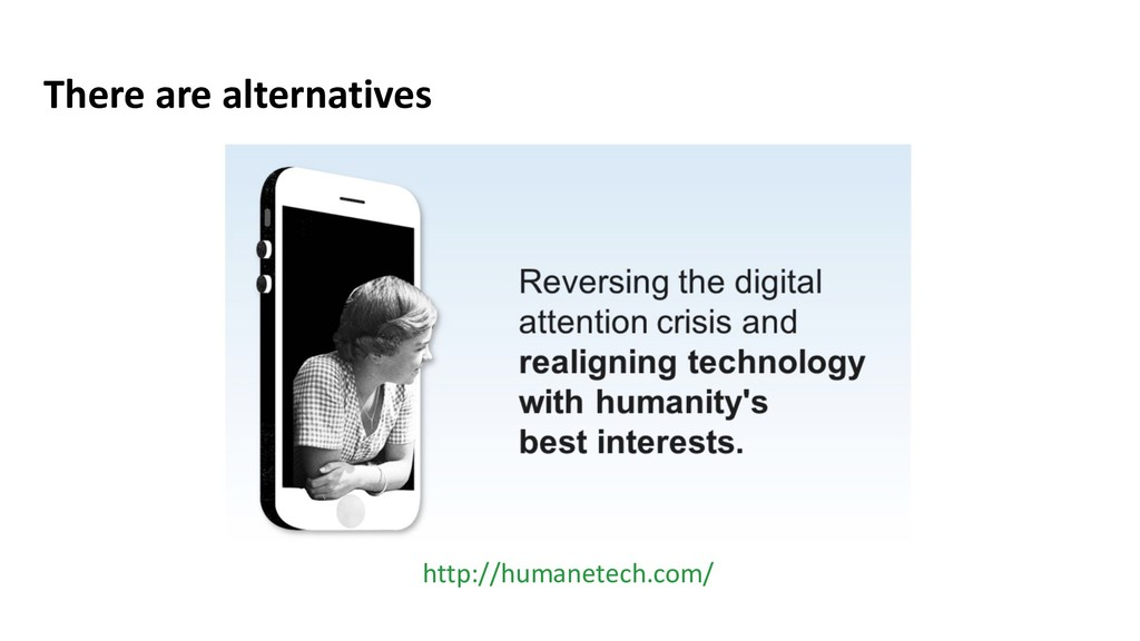 There are alternatives http://humanetech.com/