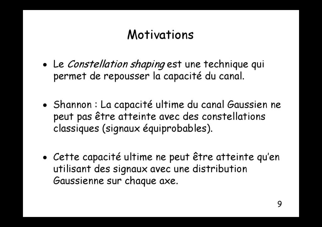 Motivations Motivations L C st ll ti sh i st t ...