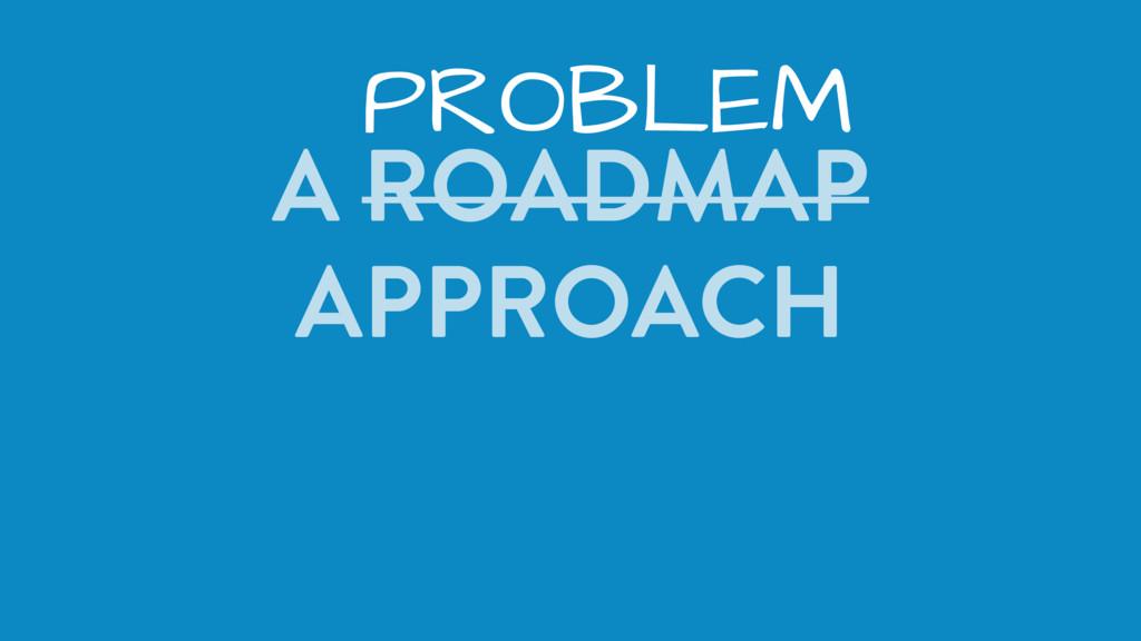 A ROADMAP APPROACH PROBLEM