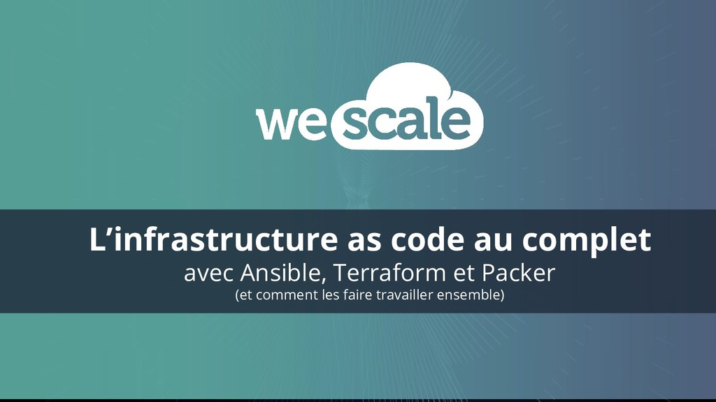 L'infrastructure as code au complet avec Ansibl...