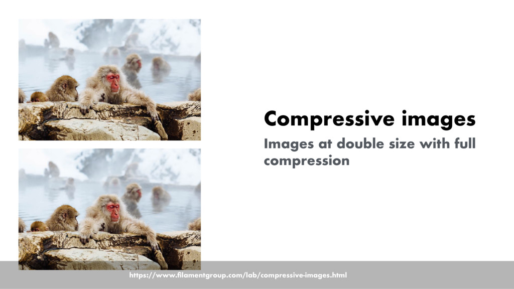 Compressive images Images at double size with f...