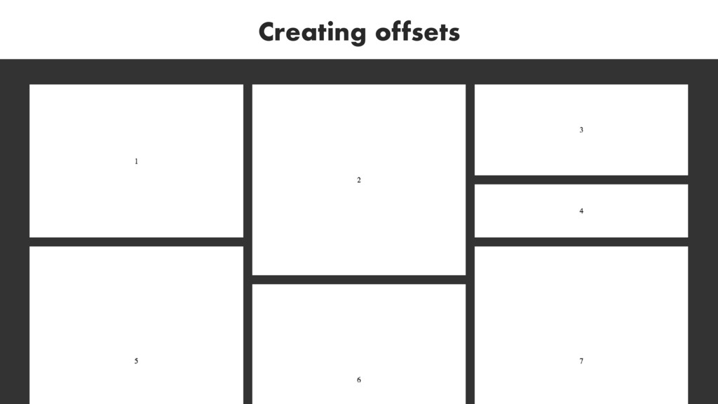 Creating offsets
