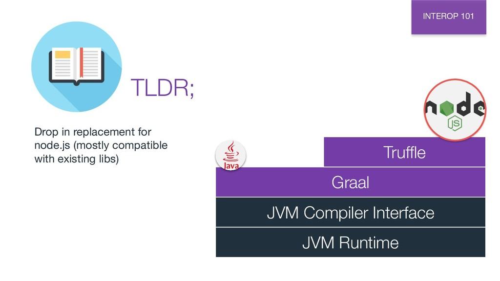 INTEROP 101 Graal JVM Compiler Interface JVM Ru...