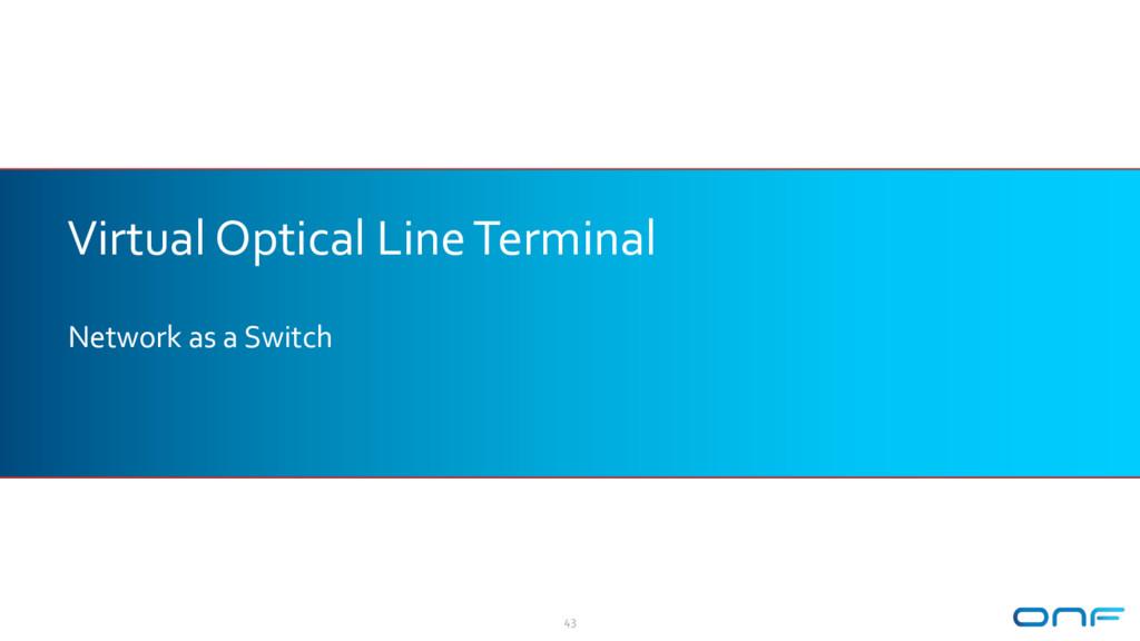 Virtual Optical Line Terminal Network as a Swit...