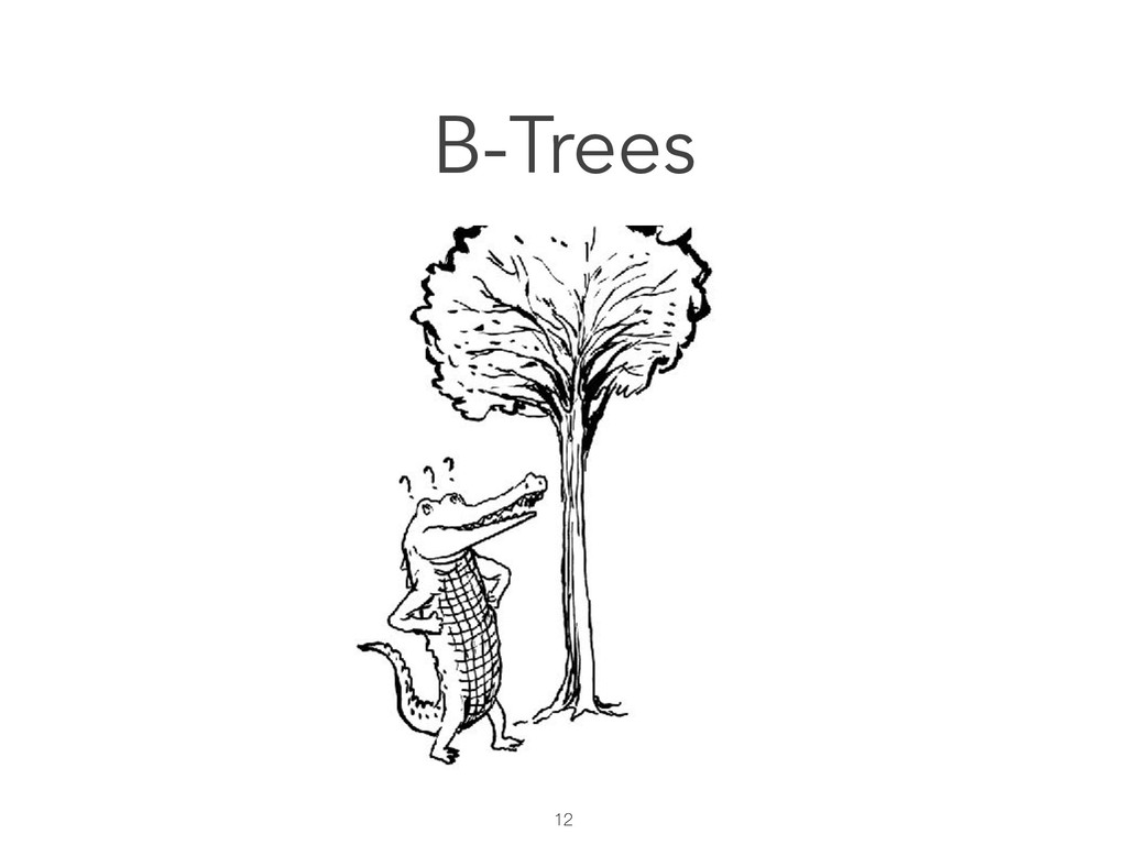 12 B-Trees