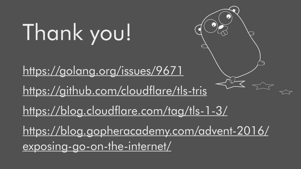 https://golang.org/issues/9671 https://github.c...