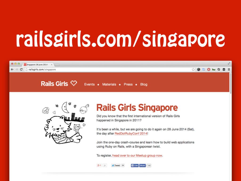 railsgirls.com/singapore