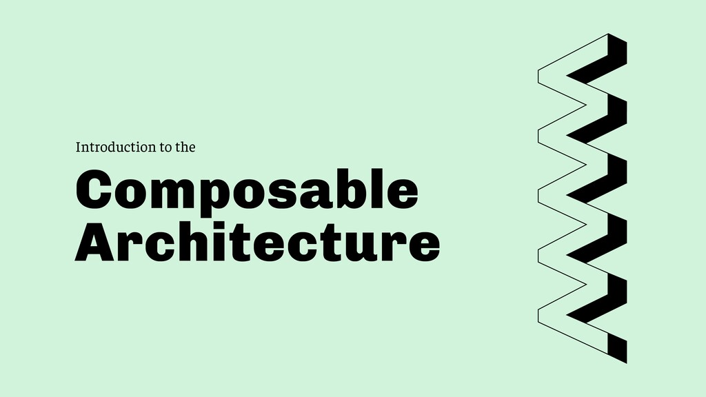 Introduction to the Composable Architecture