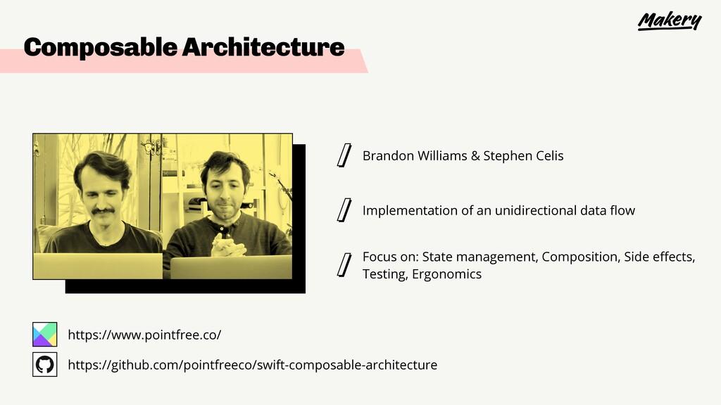 Brandon Williams & Stephen Celis Implementation...