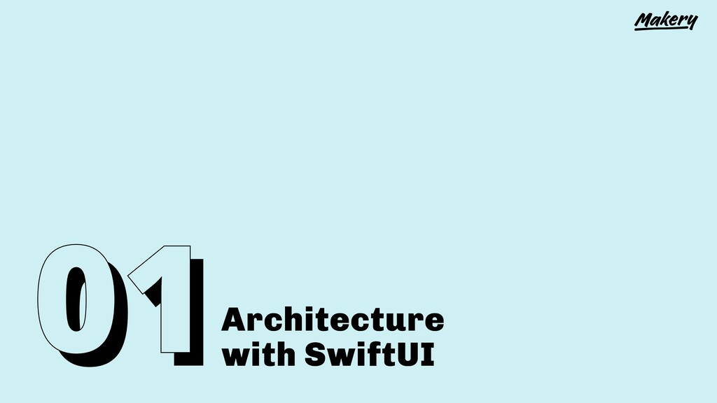 Architecture with SwiftUI
