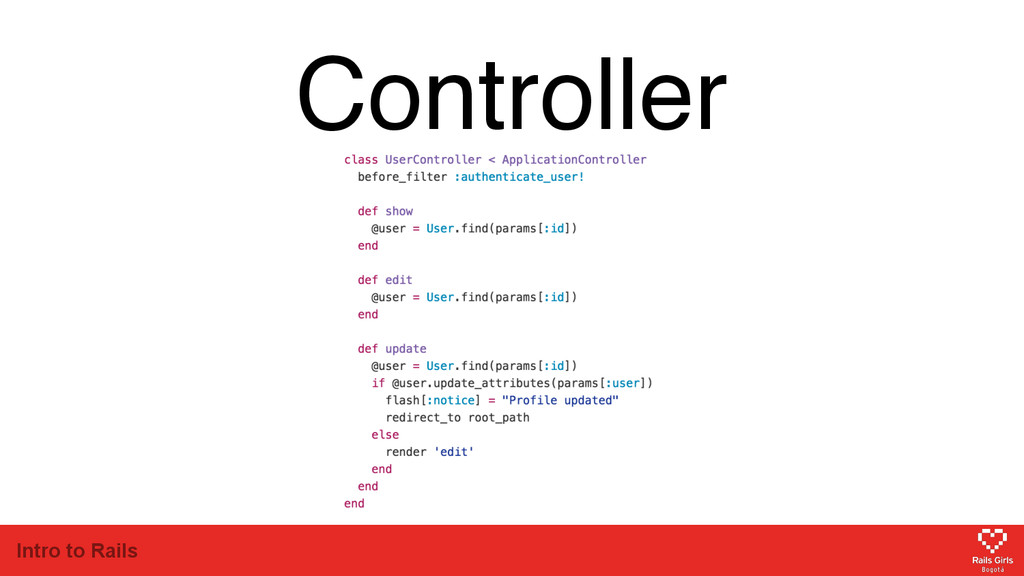 Intro to Rails Controller