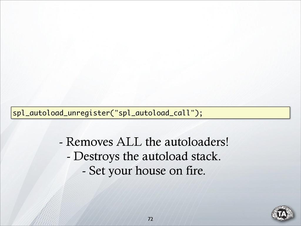 """72 spl_autoload_unregister(""""spl_autoload_call"""")..."""
