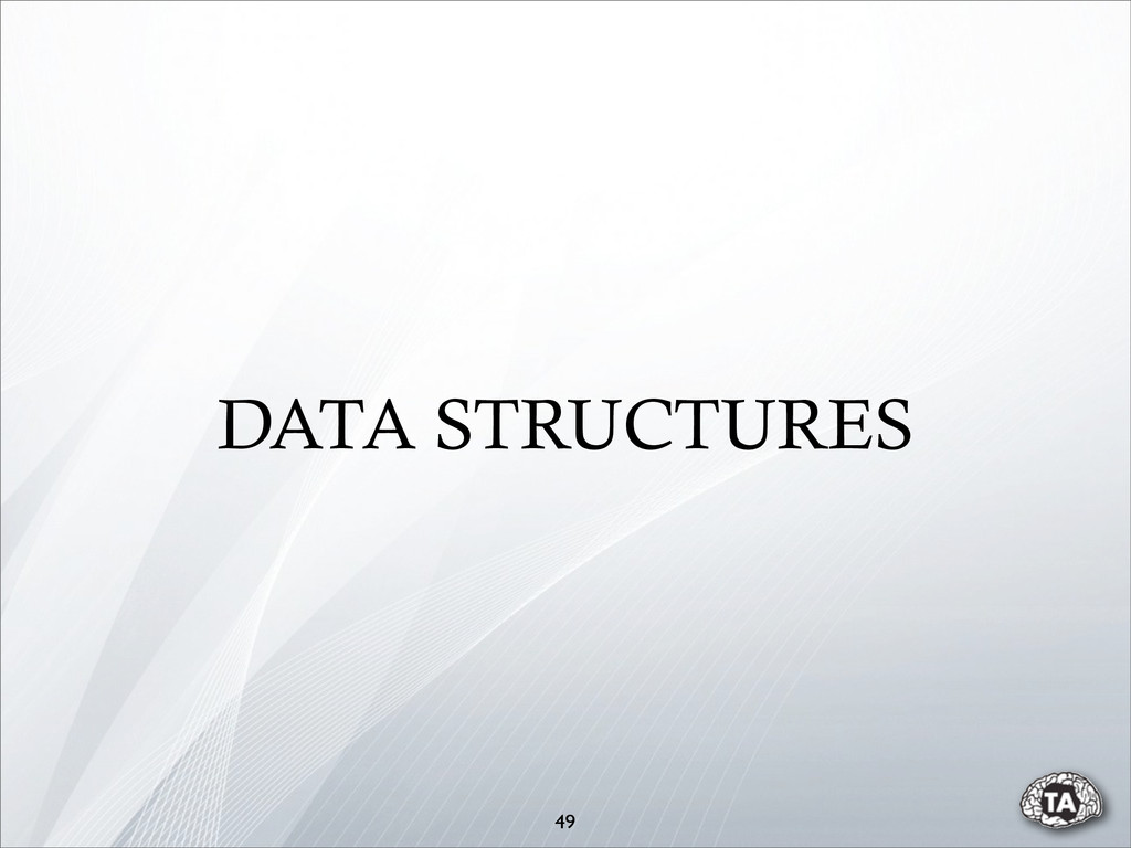 49 DATA STRUCTURES