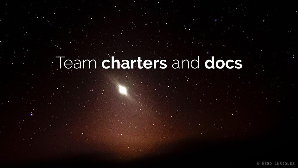 charters docs
