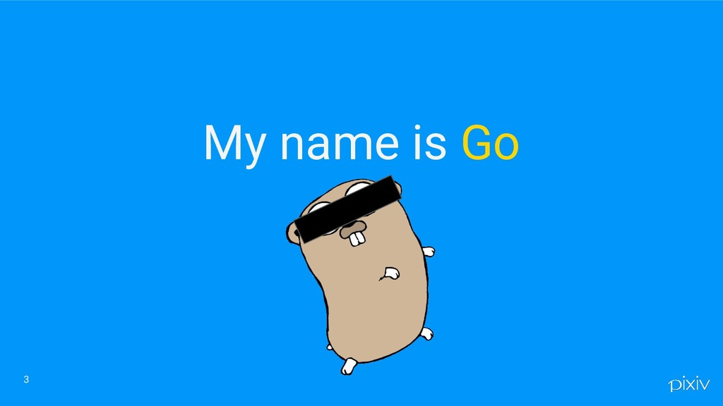 My name is Go 3