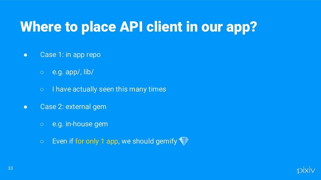 ● Case 1: in app repo ○ e.g. app/, lib/ ○ I hav...