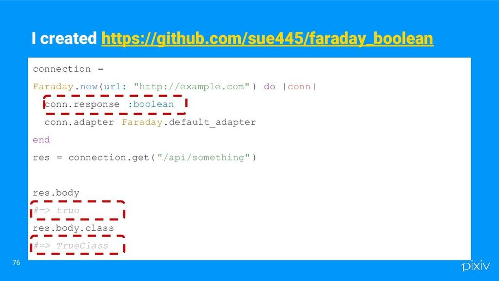 76 I created https://github.com/sue445/faraday_...